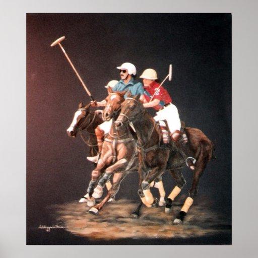 Polo Fever print