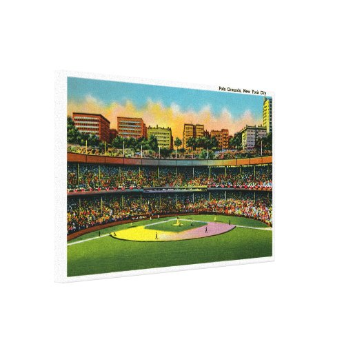 Polo Grounds Gallery Wrapped Canvas