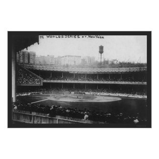 Polo Grounds Series Baseball 1913 Poster