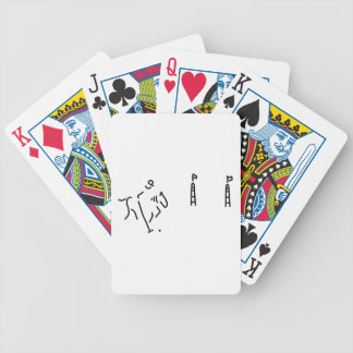 polo horse haven jockey horse bicycle playing cards