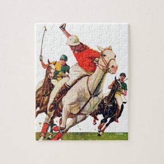 Polo Match Jigsaw Puzzle