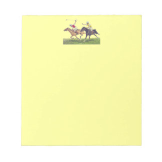 Polo Ponies Notepads