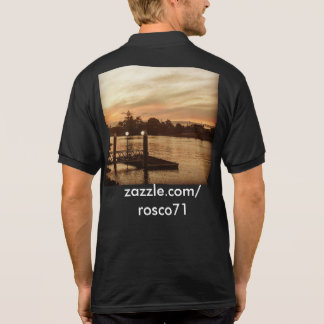 Polo Shirt Sunset.