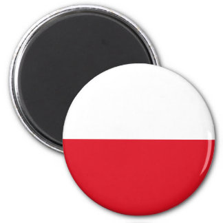 Polonian flag magnet