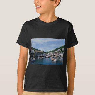 Polperro Harbor, Cornwall, England, U.K. T-Shirt