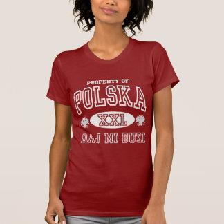 Polska Daj Mi Buzi Dark t shirt