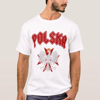 Polska Eagle Red Maltese Cross T-Shirt
