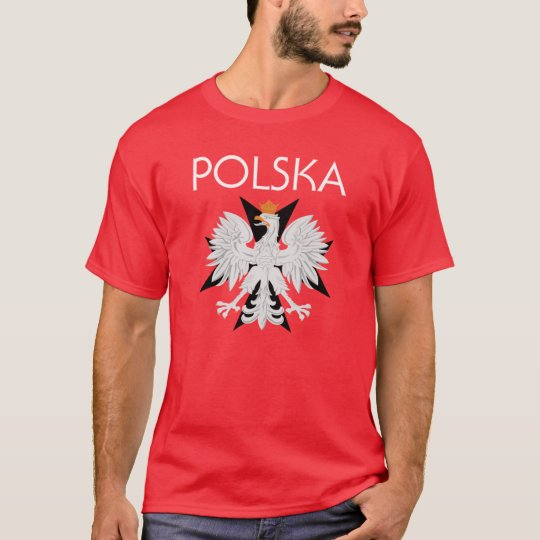 Polska Eagle w/cross t shirt