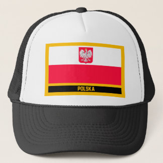 Polska Flag Trucker Hat