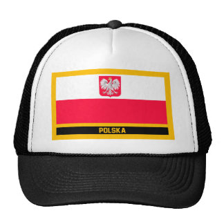 Polska Flag Trucker Hat