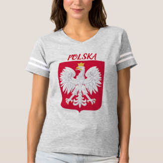 Polska (Poland) Crest Football Shirt