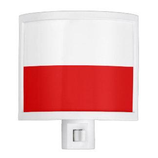 Polska Polish Flag Night Light