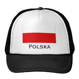Polska Polish Flag Trucker Hat