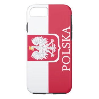 Polska White Eagle Flag iPhone 7 Case
