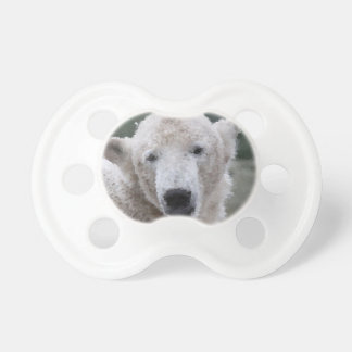 Poly Animals - Polar Bear Pacifier