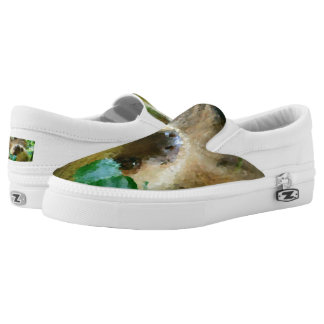 Poly Animals - Sloth Slip-On Sneakers
