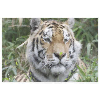 Poly Animals - Tiger Tissue Paper