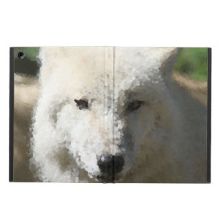 Poly Animals - Wolf iPad Air Cover