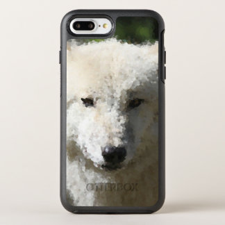 Poly Animals - Wolf OtterBox Symmetry iPhone 8 Plus/7 Plus Case
