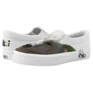 Poly Animals - Wolf Slip-On Sneakers