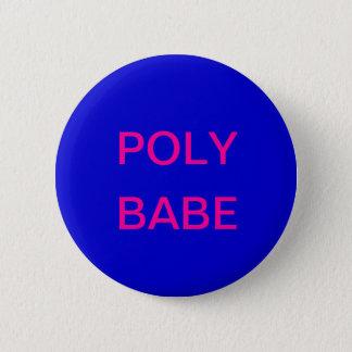 Poly Babe Button