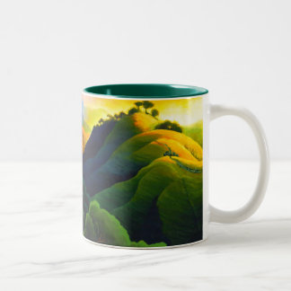 Poly Canyon Two-Tone Coffee Mug