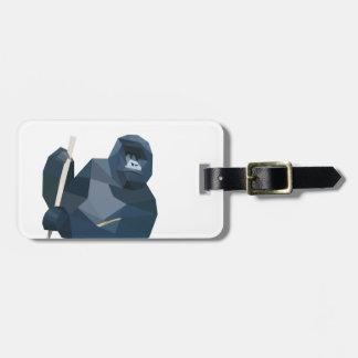 Poly Gorilla Bag Tag
