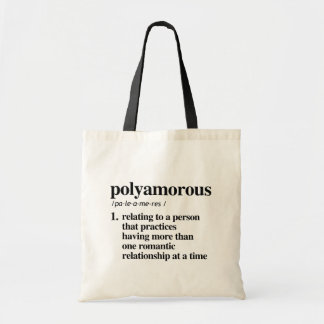 Polyamorous Definition - Defined LGBTQ Terms - Tote Bag