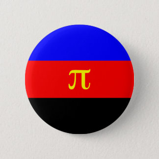 Polyamory Flag -- Pi 3-color 2 Inch Round Button