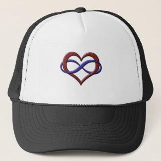 Polyamory Pride Infinity Heart Trucker Hat