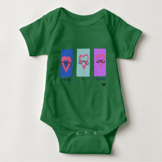 Polyamory: Sharing is Caring/ Poly Logos Baby Bodysuit