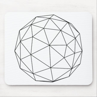 Polyball Lineart Mouse Pad - Multiple Colors