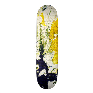 Polychromoptic #13B by Michael Moffa Skateboard Decks