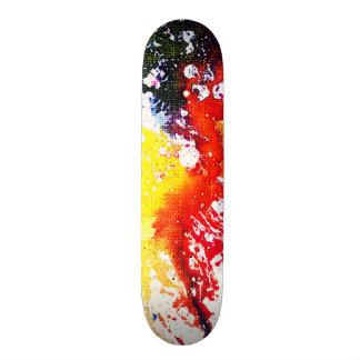 Polychromoptic #13C by Michael Moffa Skateboard Decks