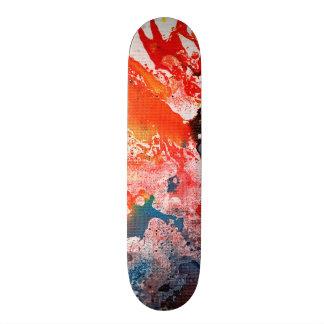 Polychromoptic #15B by Michael Moffa Custom Skate Board