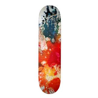 Polychromoptic #16 by Michael Moffa Skateboard