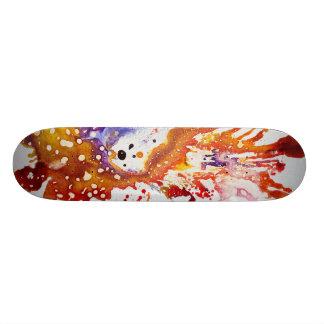 Polychromoptic #1 by Michael Moffa Skateboard Deck