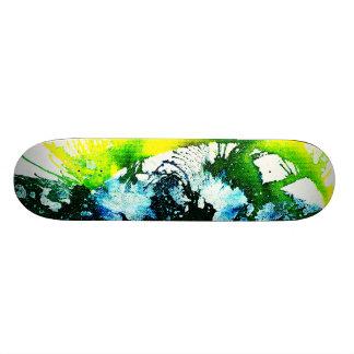 Polychromoptic #2A by Michael Moffa Skateboard