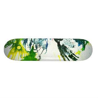 Polychromoptic #2B by Michael Moffa Skateboard Decks
