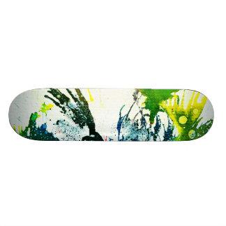 Polychromoptic 2B by Michael Moffa Skateboard Deck