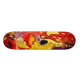 Polychromoptic #3 by Michael Moffa Skate Board