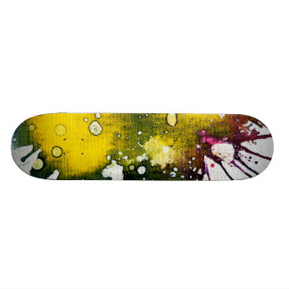 Polychromoptic #7 by Michael Moffa Skate Boards
