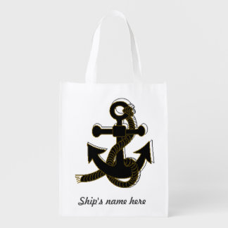Polyester Bag - Boat Anchor and Name