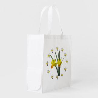 Polyester Bag - Daffodil blossoms