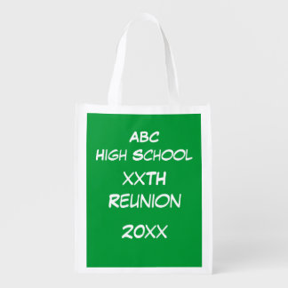 Polyester Bag - Green Chalk Board