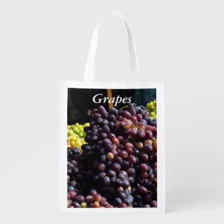 Polyester Bag - Purple Grapes