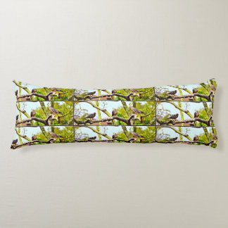 Polyester Body Pillow - Doves on a Limb