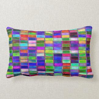 Polyester Cushion Lumbar – Distressed Tiles