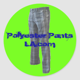 Polyester Pants LA Logo Sticker