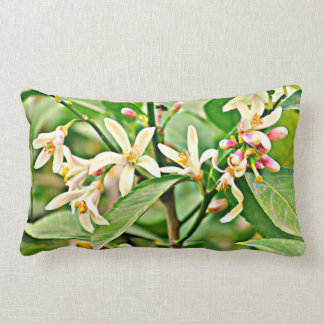 "Polyester Throw Pillow "" Apple Tree Blossoms"""